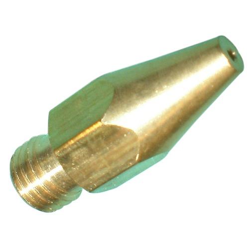 """6mm x 0.75"""" cone shaped orifice, #64 drill"""
