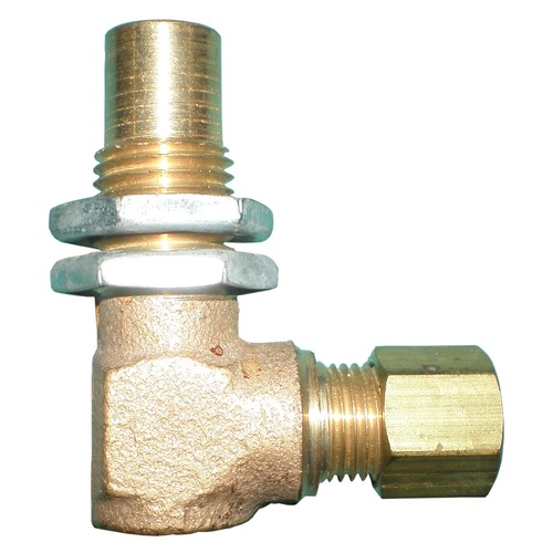 """90° Orifice Elbow with 0.25"""" Compression Fitting Part"""