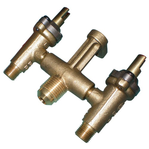 LP Gas Brass Valve Assembly for Broilmaster Kalamazon