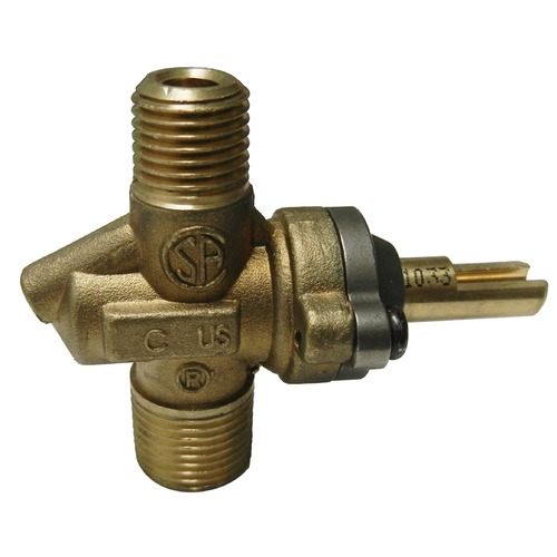 gas valve for use with natural or LP gas