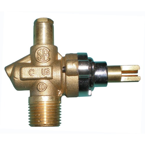Single LP Gas Valve for Charmglow HEJ with #49 Orifice