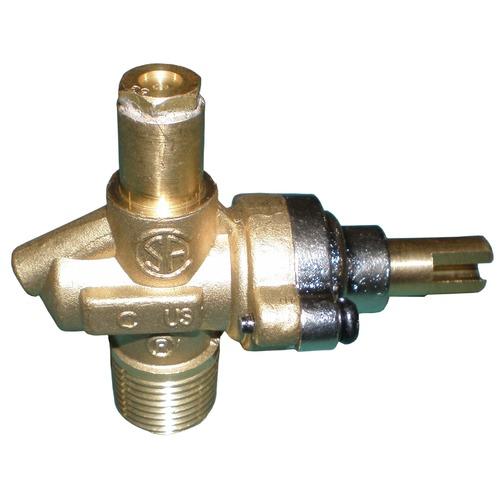 Single LP Gas Valve for Charmglow AMK with #53 Orifice