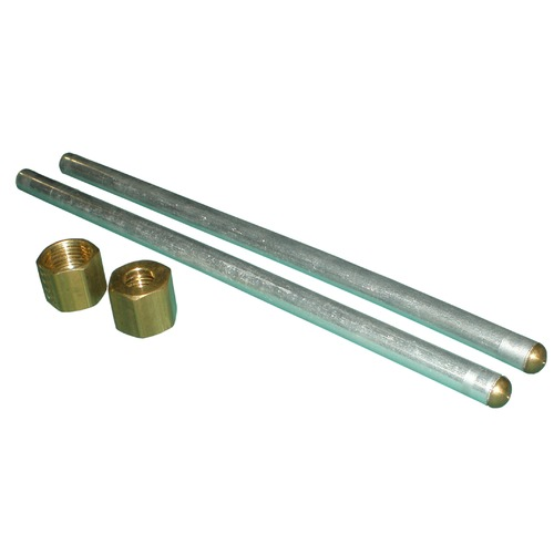 one pair plumbing tubes with LP orifice and female compression fitting