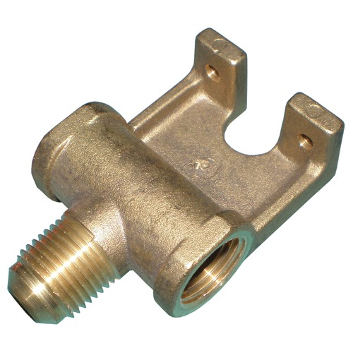 Brass T Manifold Replacement for Charmglow CC-1 Valves