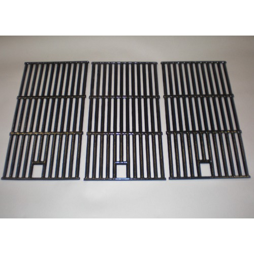 gloss cast iron cooking grid