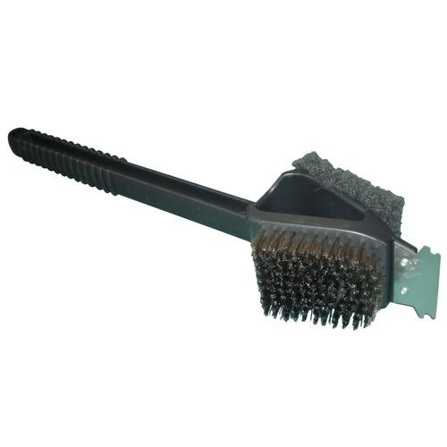 Grid Brush w/ Mini Scraper Barbecue Cleaning Supplies