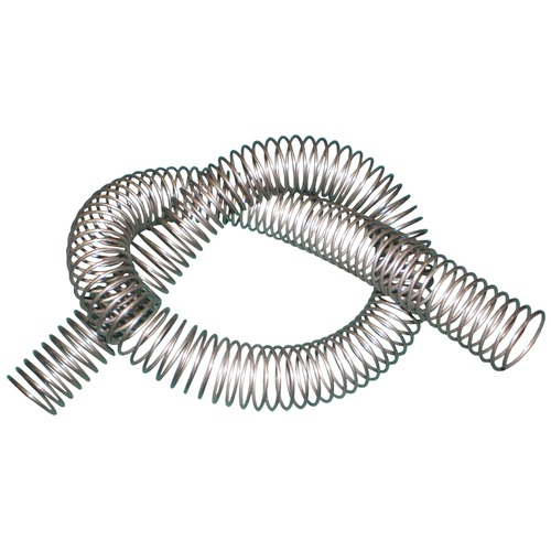 "24"" stainless steel spring hose protector"