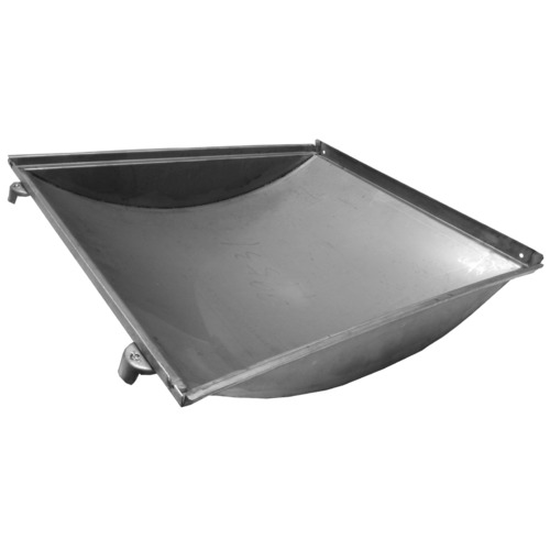 stainless steel tub-style heat plate