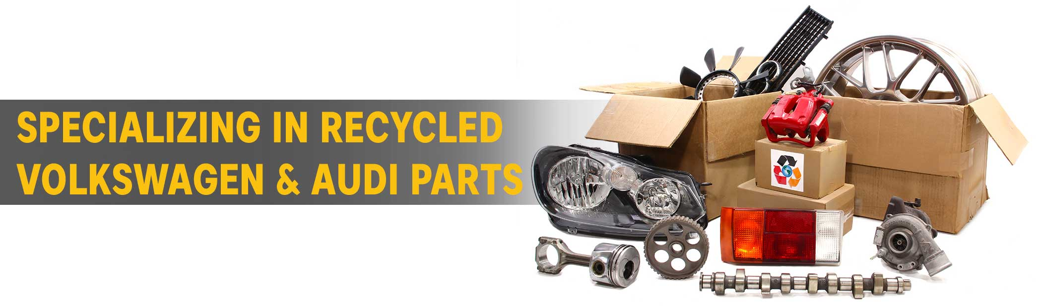 Specializing in recycled Volkswagen & Audi Parts