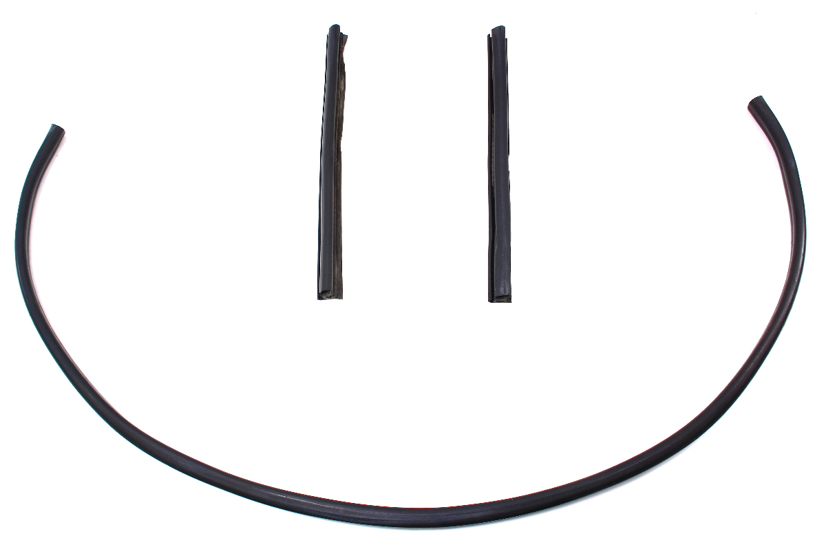 Engine Bay Hood Seal Rubber Weather Stripping 98-04 Audi A6 C5 - Genuine