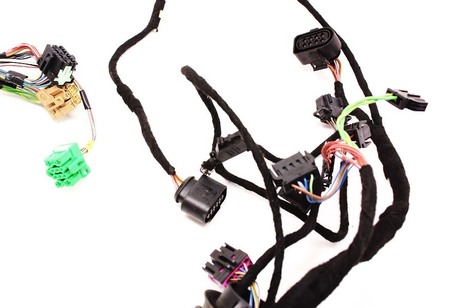 Rh Front Door Wiring Harness 02-04 Audi A6 S6 Rs6 C5 Allroad