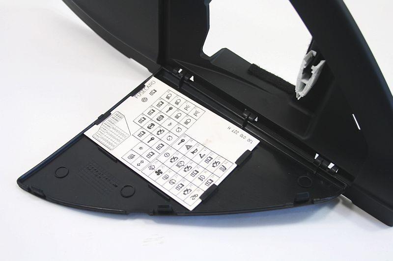 Lh Dash End Cap Fuse Panel Door Vw Jetta Golf Gti Mk4 - Genuine