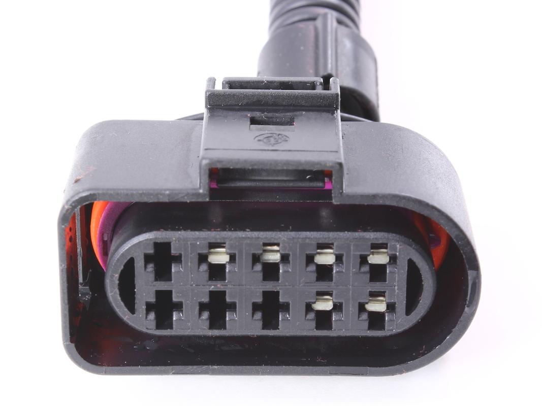 Headlight Wiring Plug Pigtail Harness 99 05 Vw Jetta Mk4 Head Light A For Lamp 1j0 973 735
