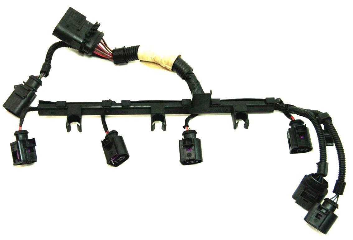 Fuel Injector Wiring Harness Pigtail 2.0T VW Jetta GTI Mk5 Audi TT A3 Eos  Passat ...