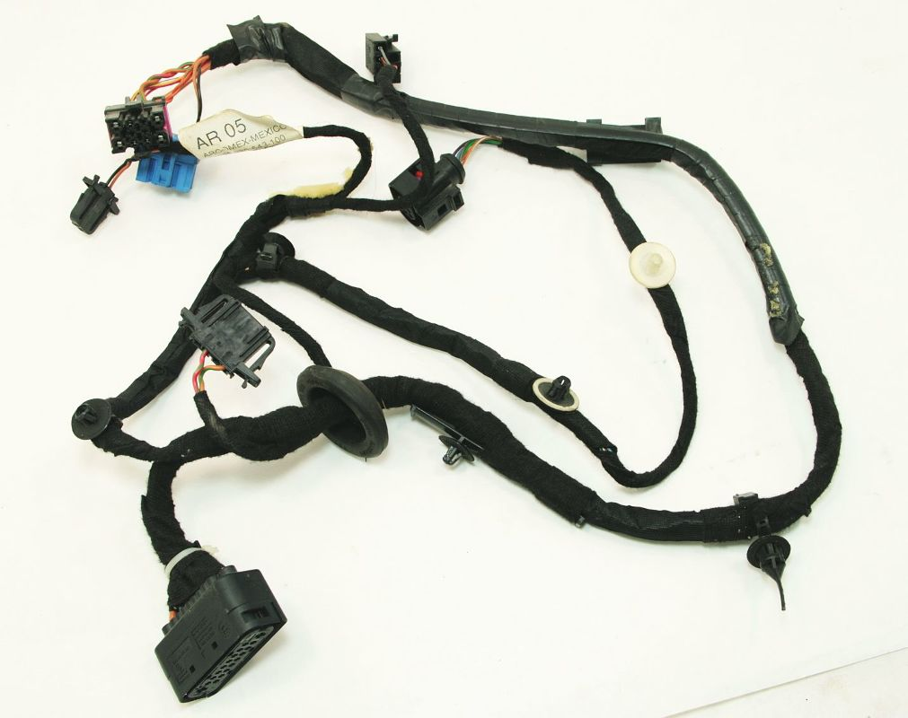LH Rear Door Wiring Harness 99-05 VW Jetta Golf Mk4 - 1J4 971 161 ...