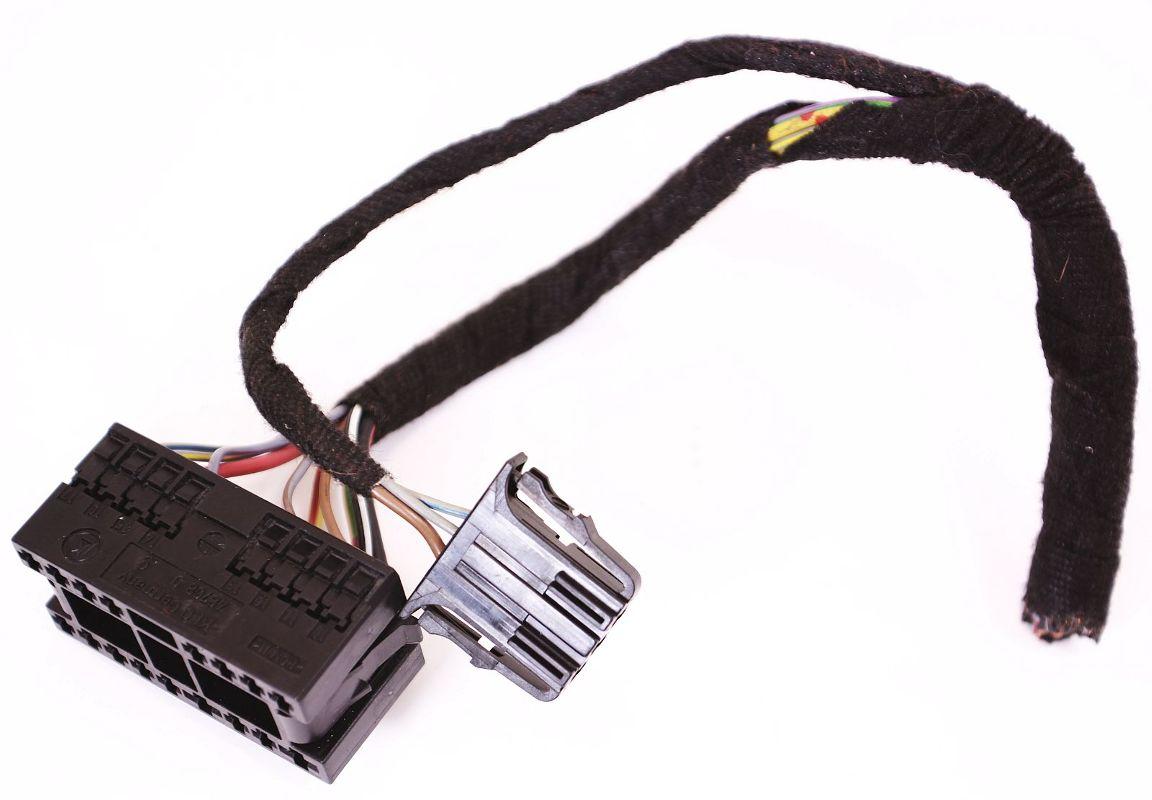 Headlight Switch Harness Plugs Pigtail Wiring VW Jetta Golf ... on