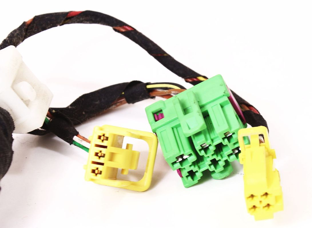 ... LH Front Heated Seat Wiring Plugs Pigtail VW Jetta Golf GTI MK4 Beetle  Harness ...