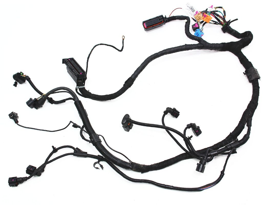 Pleasant Ecu Engine Bay Wiring Harness Vw Beetle 1 9 Tdi Genuine Oe Wiring Cloud Funidienstapotheekhoekschewaardnl