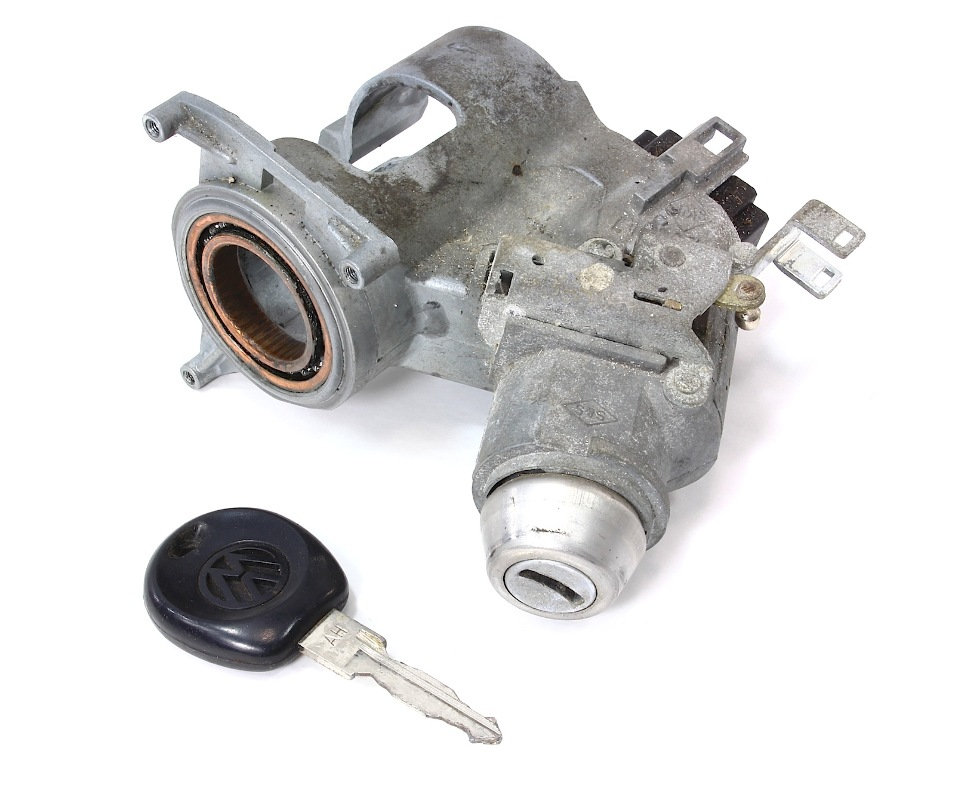Ignition Switch White For Cabriolet 85-93