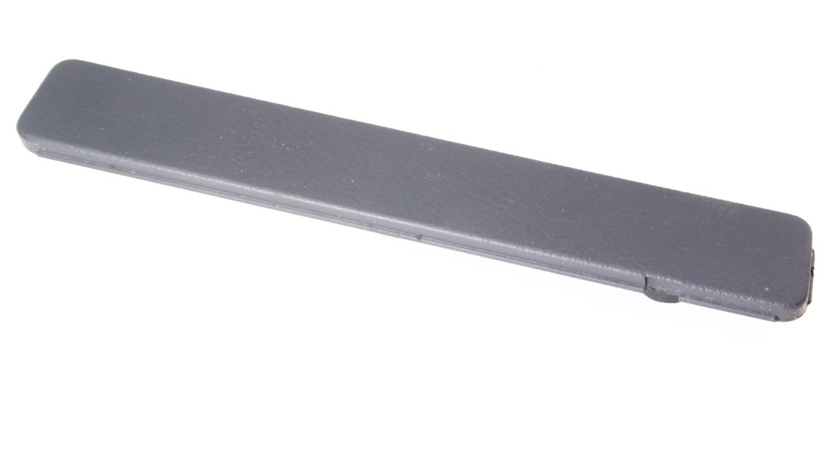 LH Lower Dash Panel Bolt Cover Trim Cap 96-02 Audi A4 S4 B5 - Black - Genuine