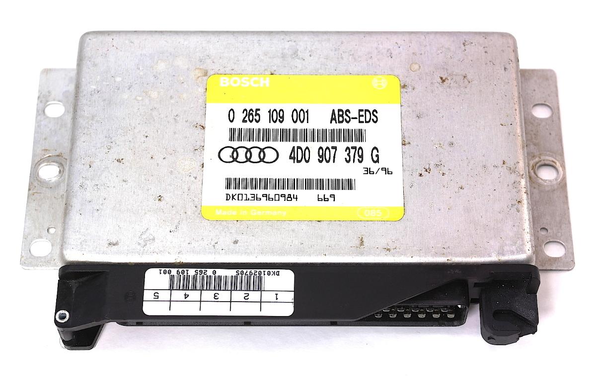 ABS Control Module Computer 96-99 Audi A4 A6 - Genuine - 4D0 907 379 G