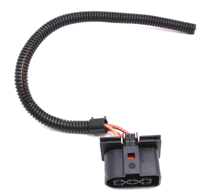 Small Electric Fan Pigtail Wiring Plug VW Jetta Golf GTI MK4 - 1J0 906 233