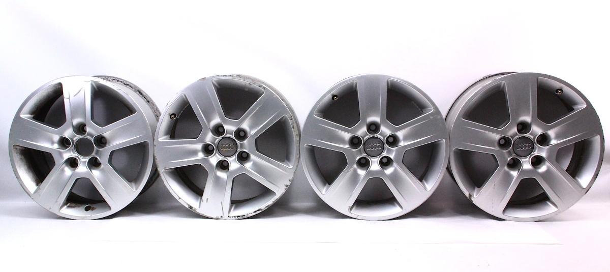 Set Of Stock 16 Audi A4 B6 Wheels Rims 02 05 Fundo 7x16 5x112