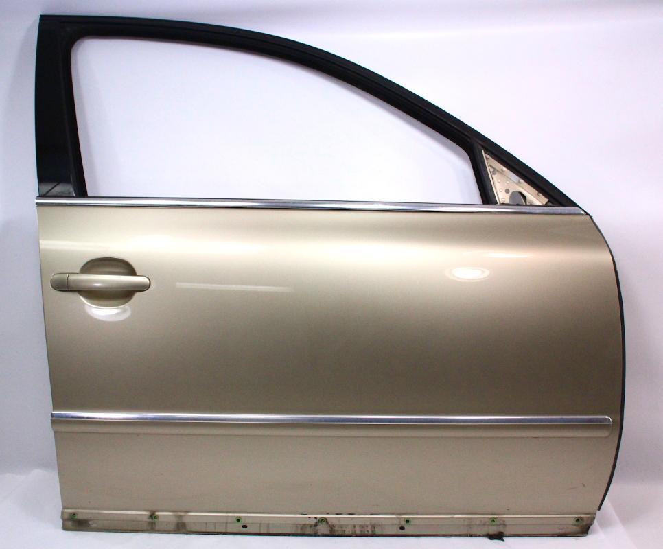 RH Front Door Shell Skin 01-05 VW Passat B5.5 - LA1W Storm Beige - Genuine