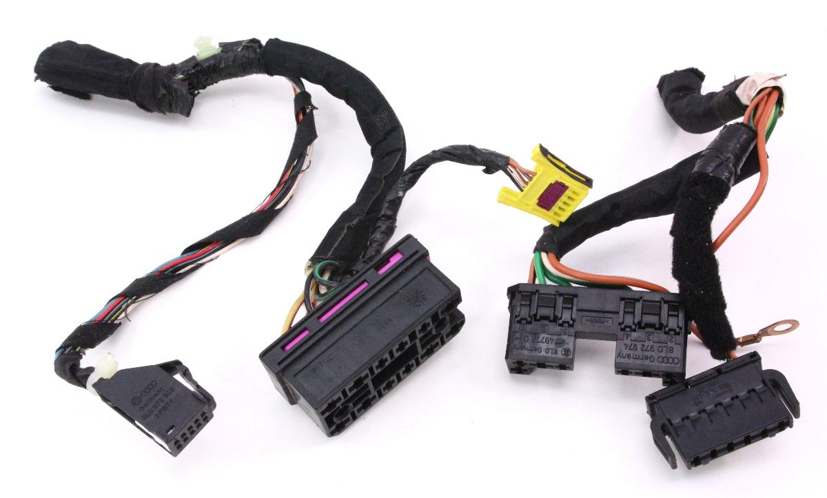 Steering Column Switches Wiring Plugs Pigtails 98-05 VW Beetle