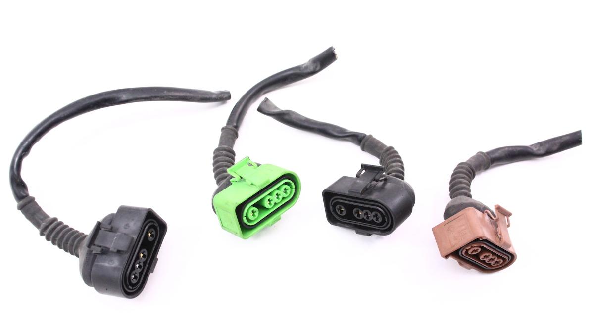 o2 Oxygen Sensor Pigtails Wiring Plugs Harness Audi A6 A4 VW Passat 2.8 V6 30v