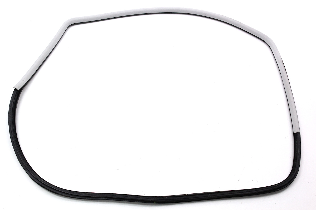 LH Door Seal Weatherstripping Rubber Trim 98-05 VW Beetle Grey - 1C0 867 365 L