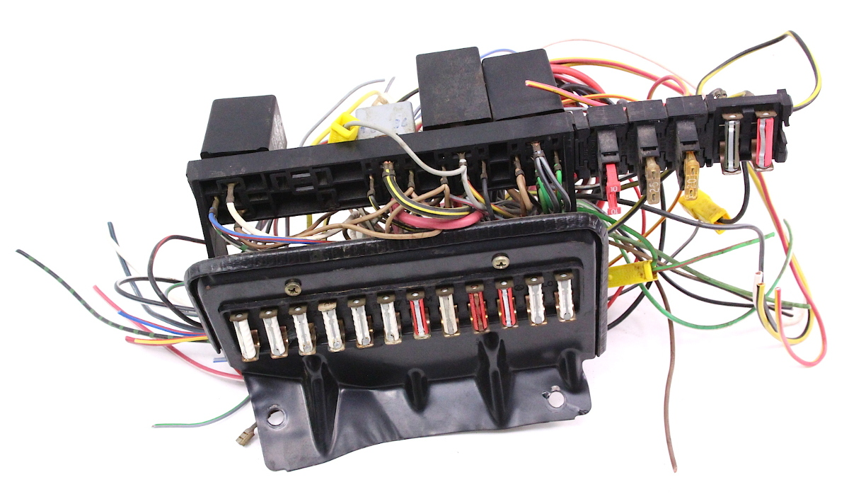 Vanagon Fuse Box Cover Trusted Wiring Diagram Panel Relays 1985 Vw T3 Carparts4sale Inc Xj