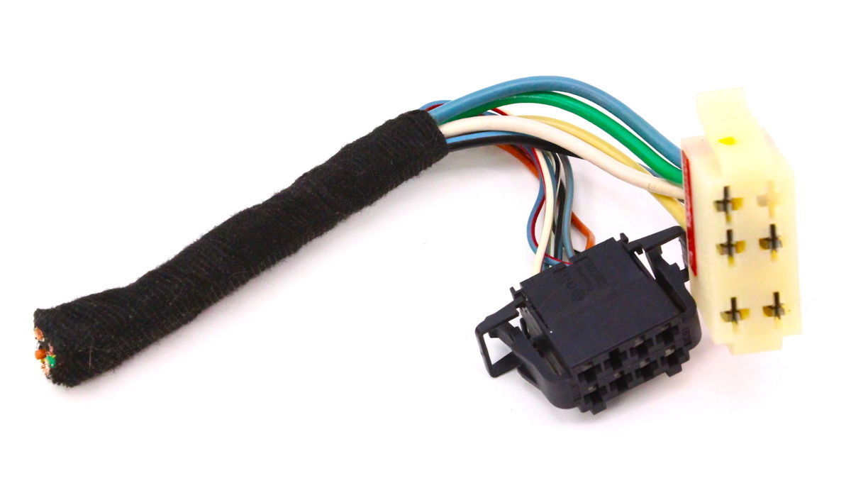 AC A/C Heater Climate Controls Plugs Pigtails 99-05 VW Jetta Golf GTI MK4