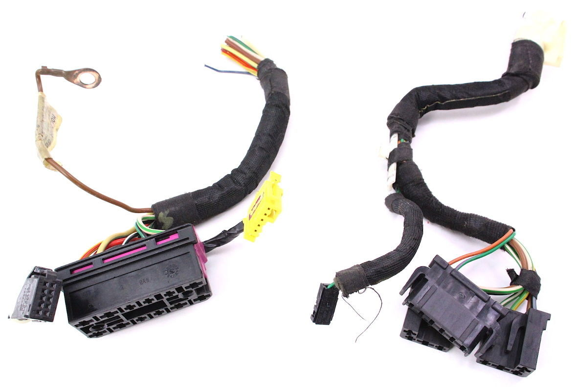 Steering Column Switch Wiring Plugs Pigtails 99 05 Vw Jetta Gti Mk4 Volkswagen Connectors Genuine