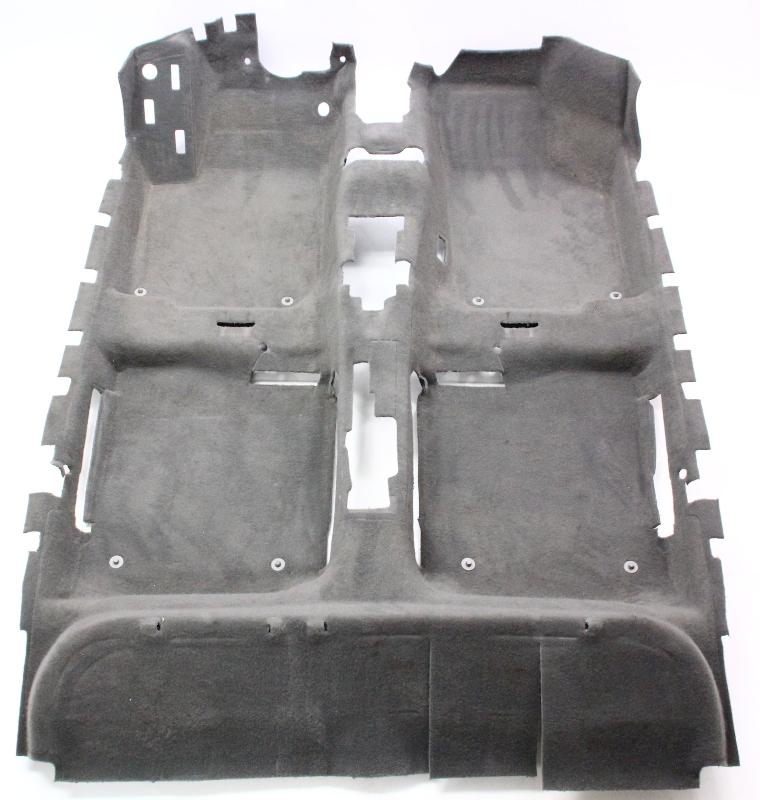 Interior Floor Carpet Grey 99-05 VW Jetta Golf MK4 - Genuine - 1J1 863 367 T