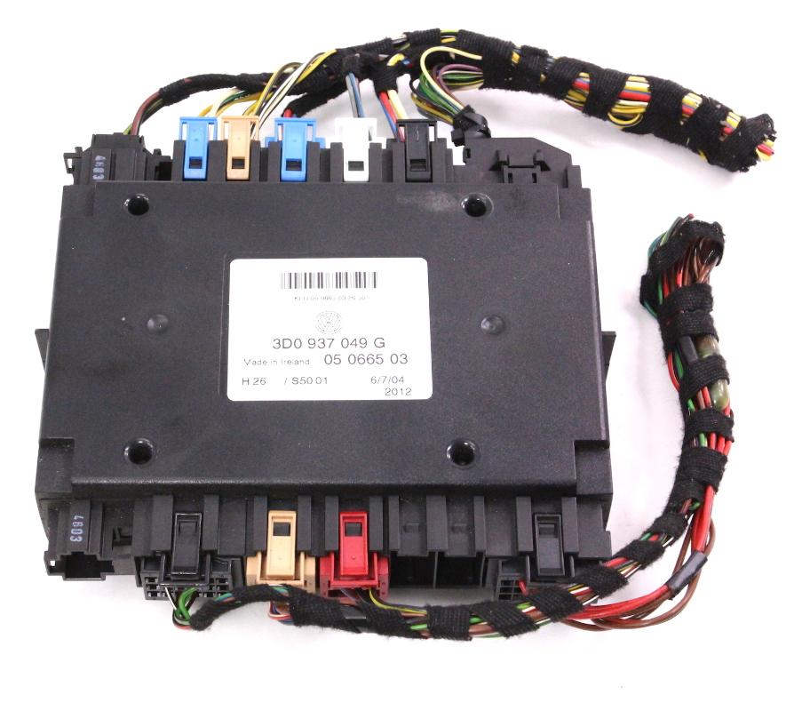 Central Electronics Body Control Module BPCM 04-06 VW Phaeton - 3D0 937 049  G | CarParts4Sale, Inc