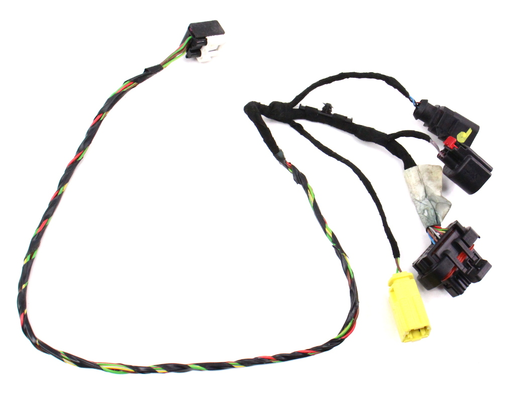 RH Seat Wiring Harness 06-08 Audi A3 8P - Manual - Genuine