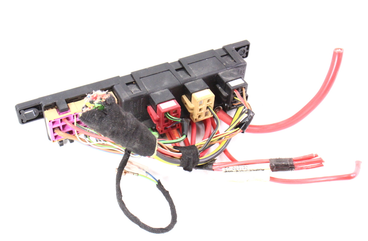 Dash Relay Block Panel Box & Wiring Pigtail 98-04 Audi A6 C5 - 8L0 on