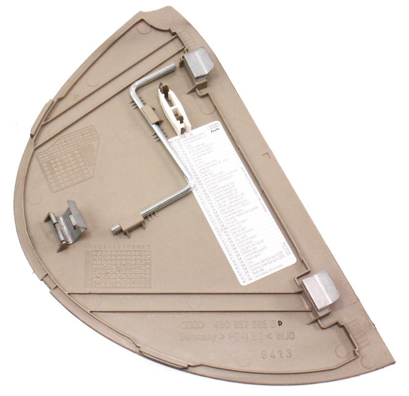Lh Side Dash End Cap Trim Panel Fuse Cover 98-04 Audi A6 C5