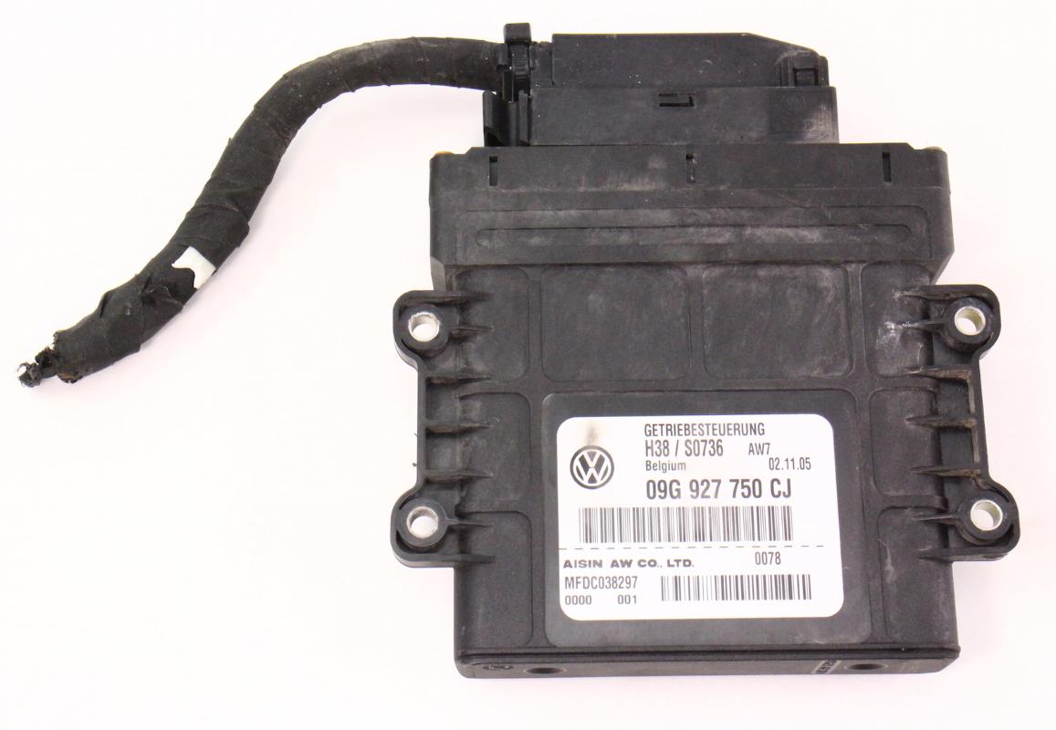 TCM Transmission Computer 06-07 VW Passat B6 - 09G 927 750 CJ |  CarParts4Sale, Inc