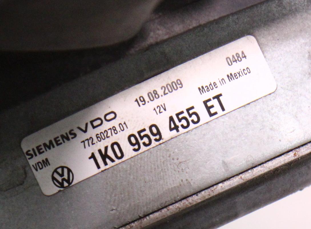 Rh 295mm Electric Cooling Fan Motor Vw Jetta Golf Gti Mk5