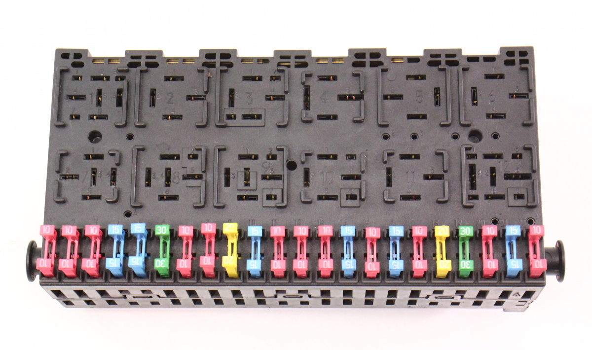 Vw Golf Fuse Box Mk3 Wiring Library Espace Mk Iii Locations Renault Relay Board Panel Block Ce2 Jetta Passat B4 357 937