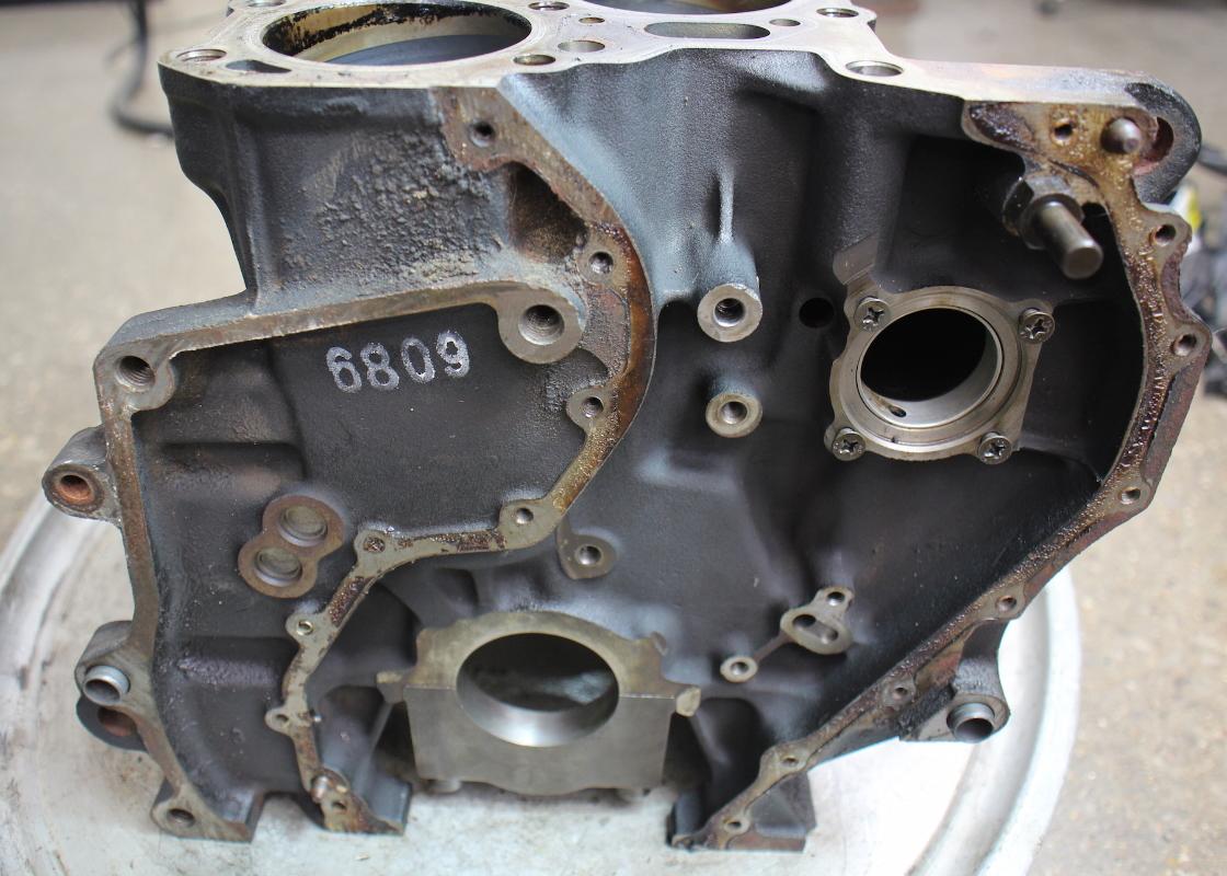 Engine Cylinder Block 2 8 12v Vr6 Afp 99