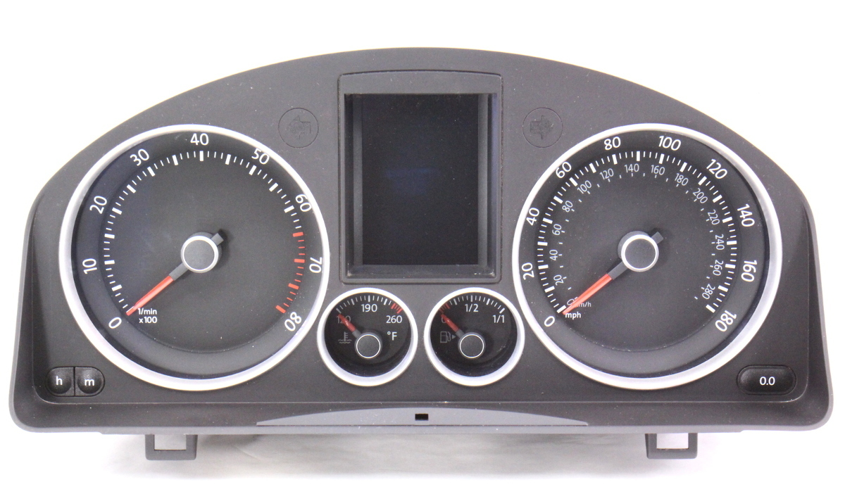 Gauge Cluster 2007 VW Jetta GTI MK5 2 0T Speedometer 180MPH - 1K6 920 973 A  | CarParts4Sale, Inc