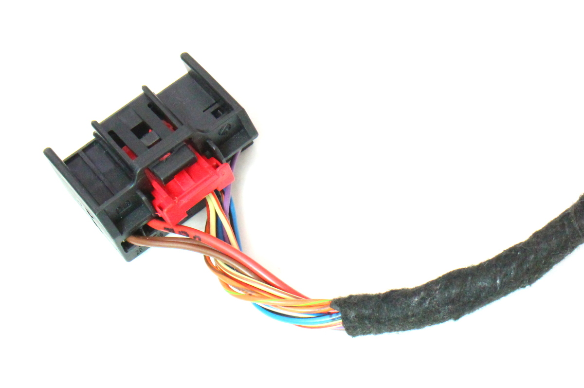 Climate Control Wiring Harness Pigtail Plug 09 12 Audi A4 B8 1k0 971 975