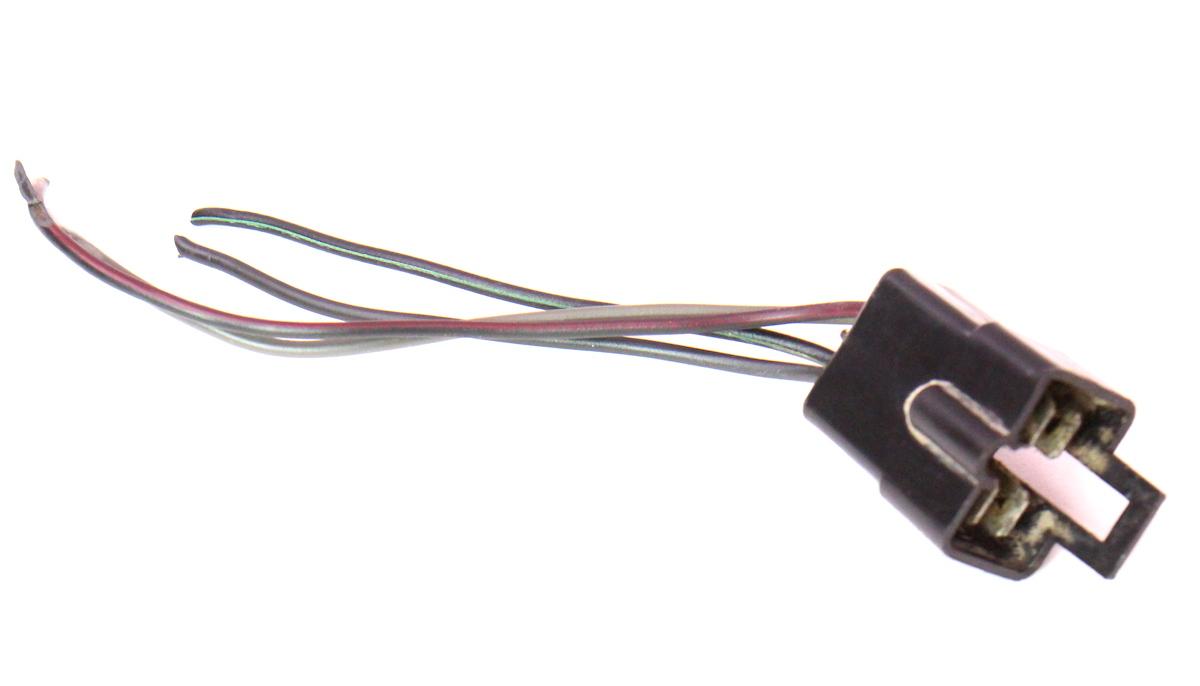 rh tail light lamp wiring pigtail plug harness 80 83 vw. Black Bedroom Furniture Sets. Home Design Ideas