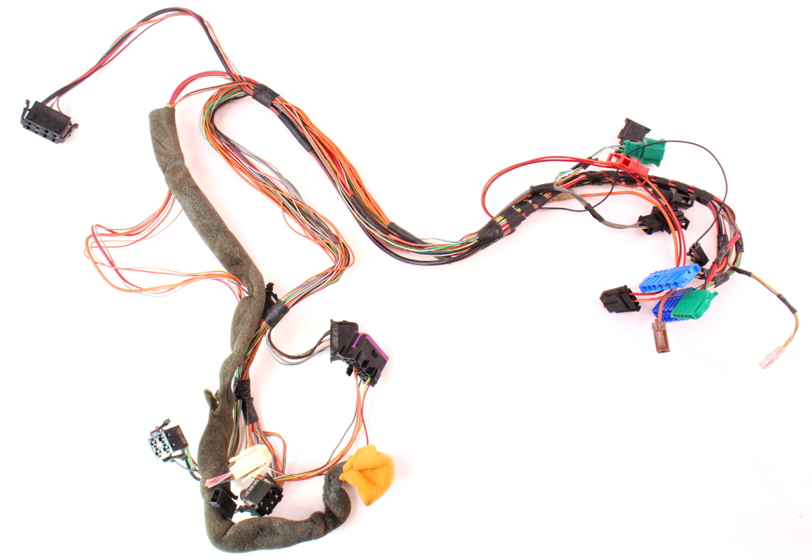 Dash Wiring Harness Vw Jetta Golf Gti Cabrio Mk3 Dashboard Obd 1hm 972 052 F