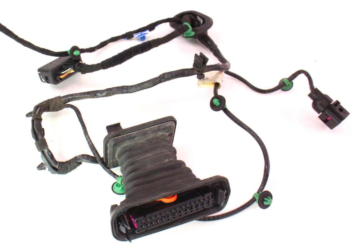 ... RH Rear Door Wiring Harness 06-09 VW Rabbit GTI Mk5 4 Door - Genuine