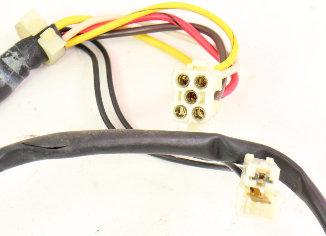 hvac climate heater box wiring harness 85-92 vw jetta golf gti mk2 -  genuine