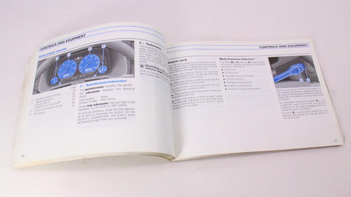 ... 1999 VW Jetta Owners Manual Books & Case 93-99 VW Volkswagen Mk3 -  Genuine ...